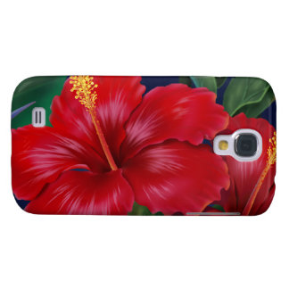 Tropical Paradise Hibiscus Samsung Galaxy S4 Cover