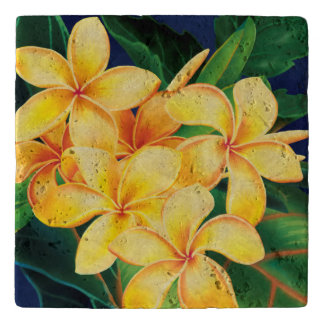 Tropical Paradise Hibiscus Hawaiian Trivet