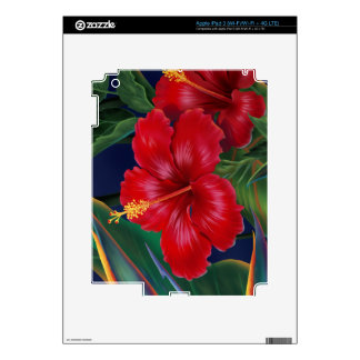 Tropical Paradise Hibiscus iPad 3 or Tablet Skin