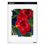 Tropical Paradise Hibiscus iPad 3 or Tablet Skin iPad 3 Decals