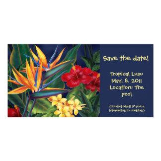 Tropical Paradise Invite &  Photo cards