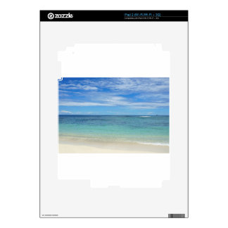 tropical paradise iPad 2 skin