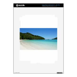 tropical paradise iPad 3 decals