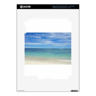 tropical paradise iPad 3 skin