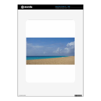 tropical paradise iPad skin