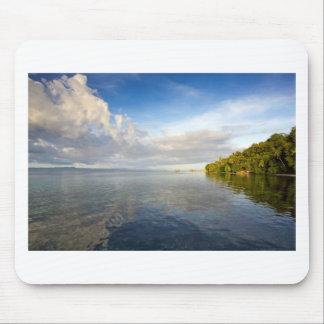 Tropical paradise island Raja Ampat archipelago Mouse Pad