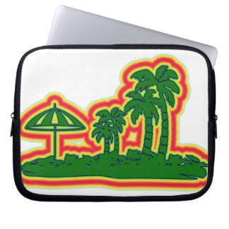Tropical Paradise Laptop Sleeves