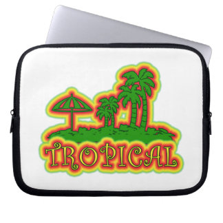 Tropical Paradise Computer Sleeve