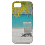 Tropical paradise lounger iPhone 5 covers