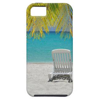 Tropical paradise lounger iPhone SE/5/5s case