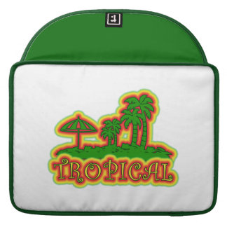 Tropical Paradise Sleeve For MacBook Pro