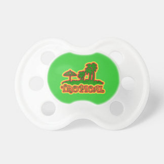 Tropical Paradise BooginHead Pacifier