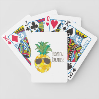 TROPICAL PARADISE DECK OF CARDS