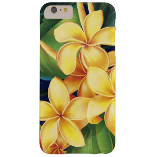 Tropical Paradise Plumeria Floral Barely There iPhone 6 Plus Case