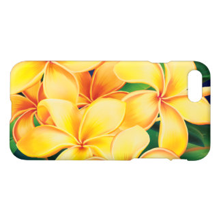 Tropical Paradise Plumeria Hawaiian iPhone 8/7 Case