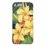 Tropical Paradise Plumeria iPhone 6 case