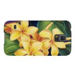 Tropical Paradise Plumeria Samsung Galaxy Case Galaxy S5 Case