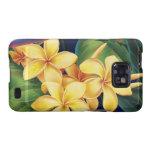 Tropical Paradise Plumeria Samsung Galaxy Case Samsung Galaxy S2 Cover
