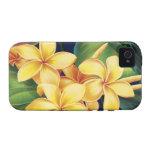 Tropical Paradise Plumeria Vibe iPhone 4 Case