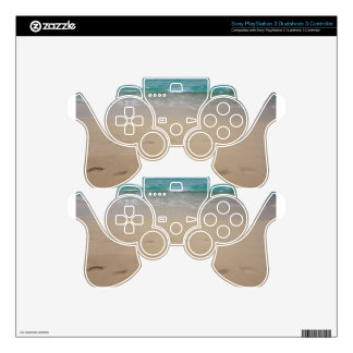 tropical paradise PS3 controller decal