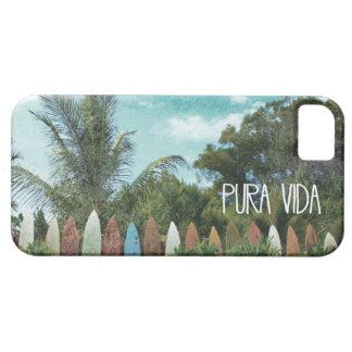 Tropical Paradise Pura Vida iPhone SE/5/5s Case