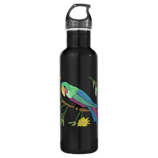 Tropical Paradise Stainless Steel Water Bottle