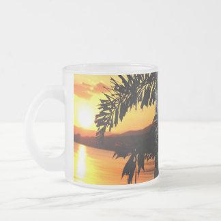Tropical Paradise Water Beach Sand Surf Destiny Coffee Mug