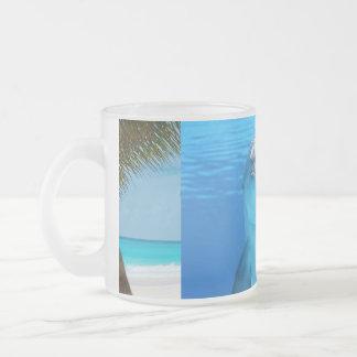 Tropical Paradise Water Beach Sand Surf Destiny Coffee Mugs