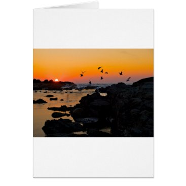 Professional Business Tropical Paradise Water Beach Sunset Palm Destiny Card