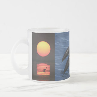 Tropical Paradise Water Beach Sunset Palm Destiny Mug