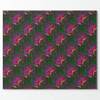 Tropical Paradise Wrapping Paper
