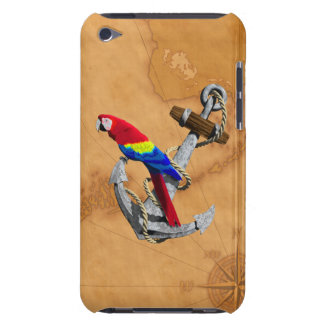 Tropical Parrot And Anchor iPod Touch Case