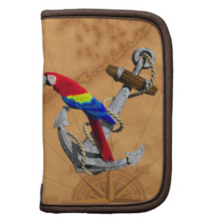 Tropical Parrot And Anchor Organizer