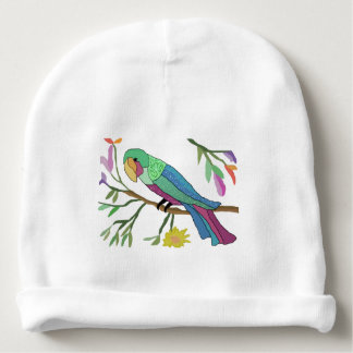 Tropical Parrot Baby Beanie