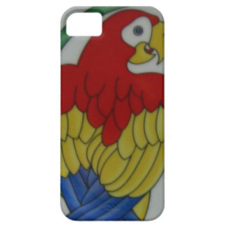 Tropical Parrot Bird Red Blue Yellow Phone Case