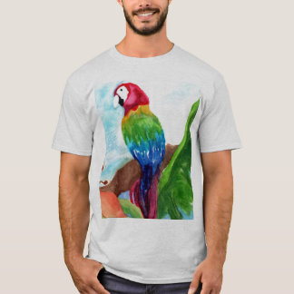 Tropical Parrot-Ice T-Shirt