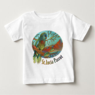Tropical Parrot of St Lucia Tshirts