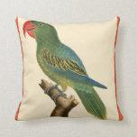 Tropical Parrot Pillow