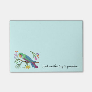 Tropical Parrot Post-it® Notes