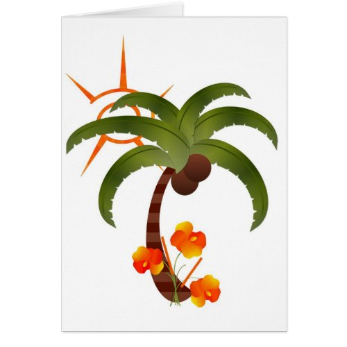 Tropical Party Card-All Occasion zazzle_card