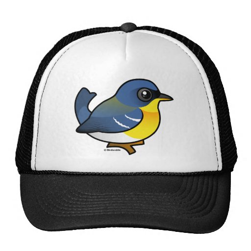 Tropical Parula Trucker Hat