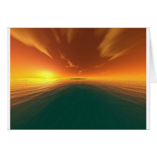 Tropical Passion Greeting Card