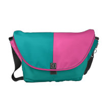 Tropical Pastels Courier Bag