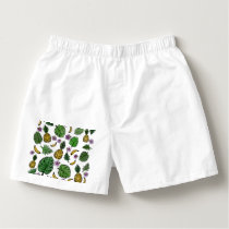 Tropical pattern boxers