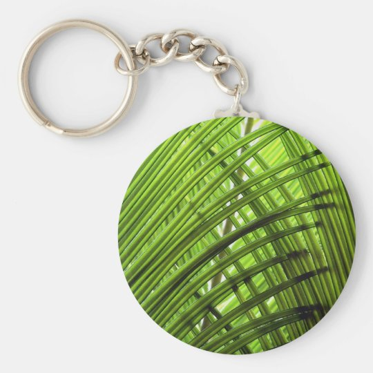 Tropical Pattern Keychain