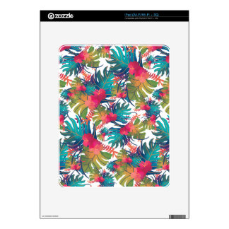 Tropical Pattern Skin For iPad