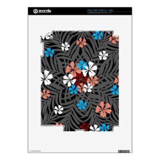 TROPICAL PATTERN SKIN FOR THE iPad 2