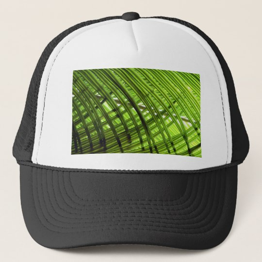 Tropical Pattern Trucker Hat