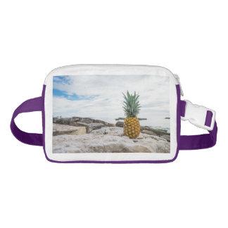 Tropical Pineapple at the Beach Waist Bag