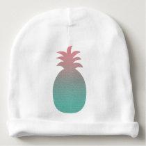 Tropical Pineapple Baby Beanie